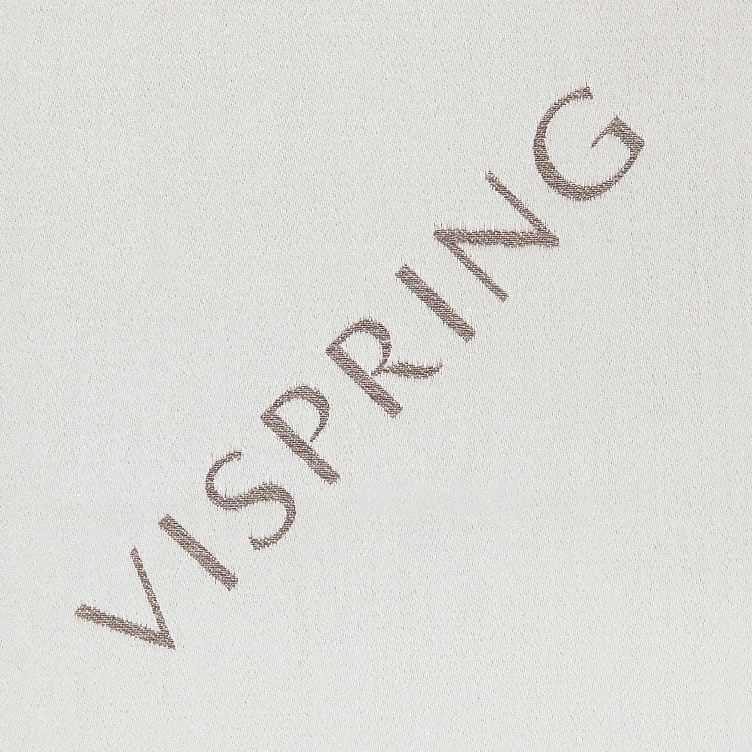 VISPRING LOGO - Pale Silver